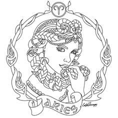 africain zodiac coloring pages - photo#5