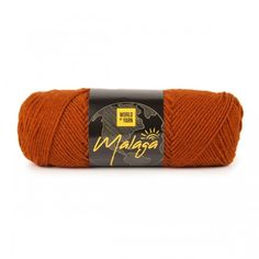 Malaga - Ginger (27) Garn World of Yarn Malaga, Big Yarn, Winter Project, Knit Or Crochet, Mittens, Two By Two, Wool, Knitting, Projects