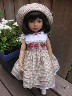 "Cherish Smocked Set Dianna Effner Little Darlings 13"" Studio Dolls by pixxells"