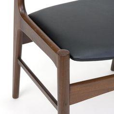 Teakhouten vintage Deense eettafel stoel jaren zestig - Pool Houses, Dining Bench, Retro, Chair, Interior, Furniture, Home Decor, Decoration Home, Houses With Pools