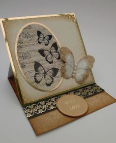 Beautiful Easel cards