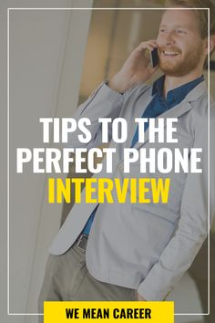 Want to know how to prepare for a phone interview? Get ready for a phone interview in the same way that you would for an in-person interview. Find a room with no distractions. Charge your phone. Read our complete article to learn more interview tips. Job Interview Preparation, Job Interview Tips, Leadership Traits, Telephone Interview, Phone Interviews, Interview Questions And Answers, Job Search Tips, Career Advice, Job Career