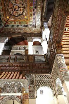Palais Mérinide, Fez, Maroc