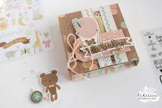 scrapbook mini oh baby by kushi per Scrap It Easy    #scrapbooking #scrap #kkushi #scrapiteasy #minialbum #minibook #simplestories #albumbaby