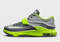 competitive price ccda1 a0ab5 KD 7 ID Easy Money Option Grey Volt Silver Air Jordan 9, Nike Shoes Cheap