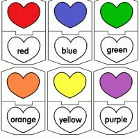 Colors | A to Z Teacher Stuff Printable Pages and Worksheets