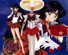 Athemis Anime Sailor Moon Hino Rei/Sailor Mars Super S Cosplay Costume Custom Made Any Size Dress Miniskirt
