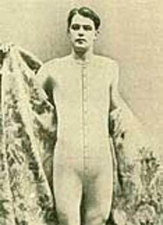 The History Of Men's Underwear: A Brief Discussion Victorian Men, Edwardian Era, 1800s Clothing, Crochet Men, Full Body Suit, Long Underwear, Don Juan, Long Johns, Historical Costume