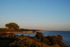 Vue formidable #saintgeorgesdedidonne #royan #estuaire #sunset #couchédesoleil #sky #parcdelestuaire #falaise #charentemaritime