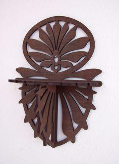Classic Wood Shelf - Brown Color - SLF001. $19.00, via Etsy.