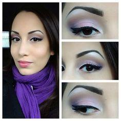 FOTD 2/6/2013 hisprmami #makeup #fotd #purple