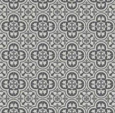 6 by 6 Cluny black and white - Kitchen backsplash?
