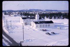 1963 -- RCAF Goose Bay, Labrador  Base Chapel (Non-Denominational) ~~ there was also a Catholic Church on the Base.