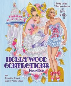 TOYLAND Magazine: David Wolfe paper dolls