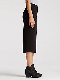 System Pencil Skirt in Viscose Stretch Ponte