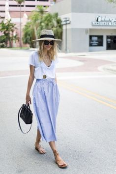 5db5d01ab18 30 Summer Work Outfits That Withstand The Heat Without Cramping Your ...