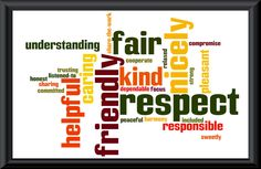 Blog about Capturing Kids' Hearts workshop - I like how she framed the Class Contract (using Wordle)