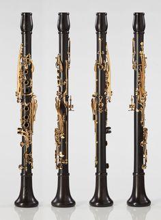 MoBa Bb Grenadilla Clarinet - Backun Musical