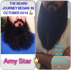 My clients beard journey since October 2014 he's been having Braziliana blowdry treatment and regular cuts to keep it healthy and grow in length #shirleyCroydon #beard #beardgang #beardlife #beardisin #beardswag #amystarsalon #brazilianablowdry #BBB #hairdressing #hair #hairswag #ladiesandgents #beards #beardlife #beardgang #beardisin #hairlife #beardswag #star #allaboutthehair #quoteoftheday #hairbusiness #instaisgood #igers #hairsalon #ladiesandgentshairdressing #beardgame #beardnation…
