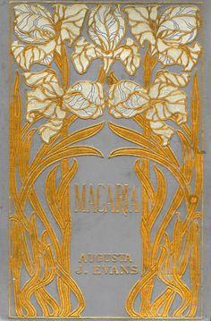 providencepubliclibrary: cair–paravel: Phases of an Inferior... Book Cover Art, Book Cover Design, Book Design, Book Art, Art Nouveau Illustration, Graphic Design Illustration, Vintage Book Covers, Vintage Books, Art Nouveau Mucha