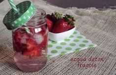 #acqua #detox alla #fragola #ricetta