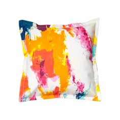 Pillow Cover in Abstract ($25) ❤ liked on Polyvore