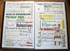 Original Signed Disney Movie listing posters by PaisleyImpressions, $32.00 Disney Cartoon Movies, Disney Movies To Watch, Disney Memes, Disney And Dreamworks, Disney Cartoons, Disney Pixar, New Groove, Movie List, Disney Magic