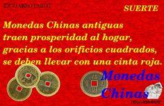 BUENA SUERTE!!! https://www.cuarzotarot.es/ #FelizLunes #BuenaSuerte #MonedasChinas #VidaSana