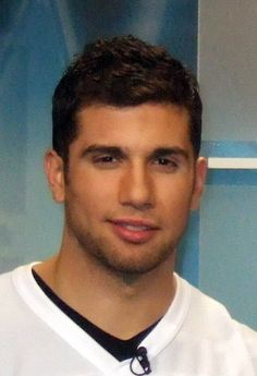 Andrew Cogliano. I'm mostly repinning this because I never really knew what he looked like until just now.