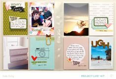 deb duty {photography + scrapbooking}: project life