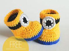 Crochet Booties-Free Pattern