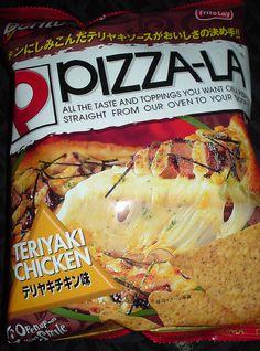 Pizza-La Teriyaki Chicken Doritos