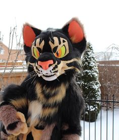 Photo by xxkaiciferxx on twitter!! such a cute cat fursuit!!