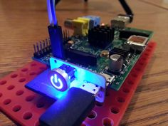 Illuminated Raspberry Pi Power Switch from Mausberry Circuits | Average Man vs Raspberry Pi - RPi Projects, Python and More