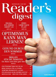 Optimismus kann man lernen - Reader's Digest Juni 2016