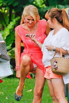 Paris Hilton @ a photoshoot in Honolulu, Hawaii