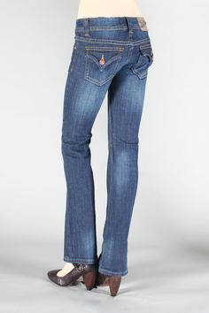 Don't dig these shoes at all, but another tip is the lower the back pocket on your jeans, the smaller your bum will appear