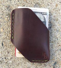 DIY inspiration-Leather Card & Cash Holster