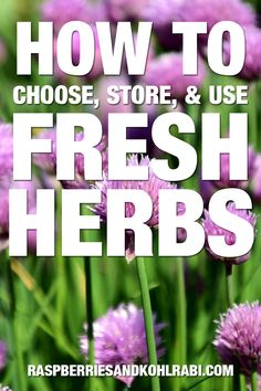 Everything you need to know about choosing, storing, and using fresh herbs. #FreshHerbs #cookingwithherbs Herb Guide, Cooking With Fresh Herbs, Brown Butter Sauce, Asian Soup, Stuffed Mushrooms, Stuffed Peppers, Drying Herbs, Roasted Vegetables, Remedies