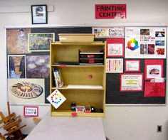 What is a studio center?   It is an area in the classroom that is designated for the organization of supplies that correspond to a certa...