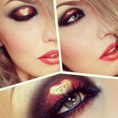 #heart #makeup #happy  @stjima