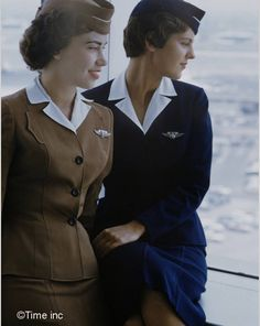Airline-Stewardess-Essay-1958-Peter-Stackpole-Google-Cultural-Institute. Glamour Girls of the Air – Air Stewardess School 1958