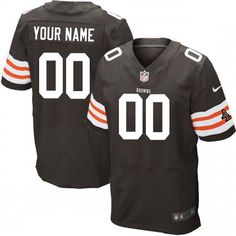 Nike Browns Isaiah Crowell Brown Team Color Men s Stitched NFL Elite Jersey  And Taco Charlton 97 jersey 7352f3bc6