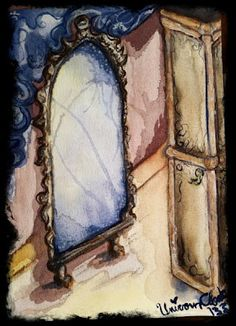 The Mirror of Erised hidden away within the castle