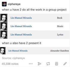 Hamilton as group work