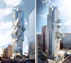 buro ole scheeren 1500 west georgia vancouver skyscraper designboom