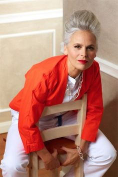 If you're a Bright, you still need Brights as you get older on bright winter elemenal colour board