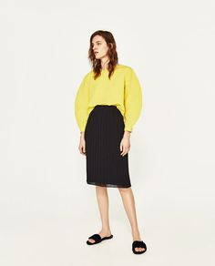 ZARA - WOMAN - ACCORDION PLEAT SKIRT