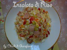 Insalata di Riso http://blog.giallozafferano.it/chiodidigarofano/insalata-riso