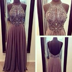 gala dress, good for girls that don't have much cleavage to show anyways